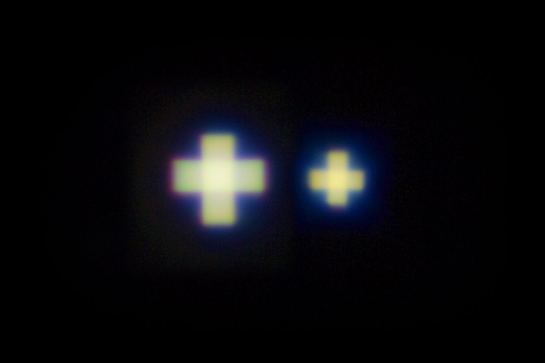 "Pattern Forming LED Lighting: Cross Type ""HOLOLIGHT CROSS"" Series"