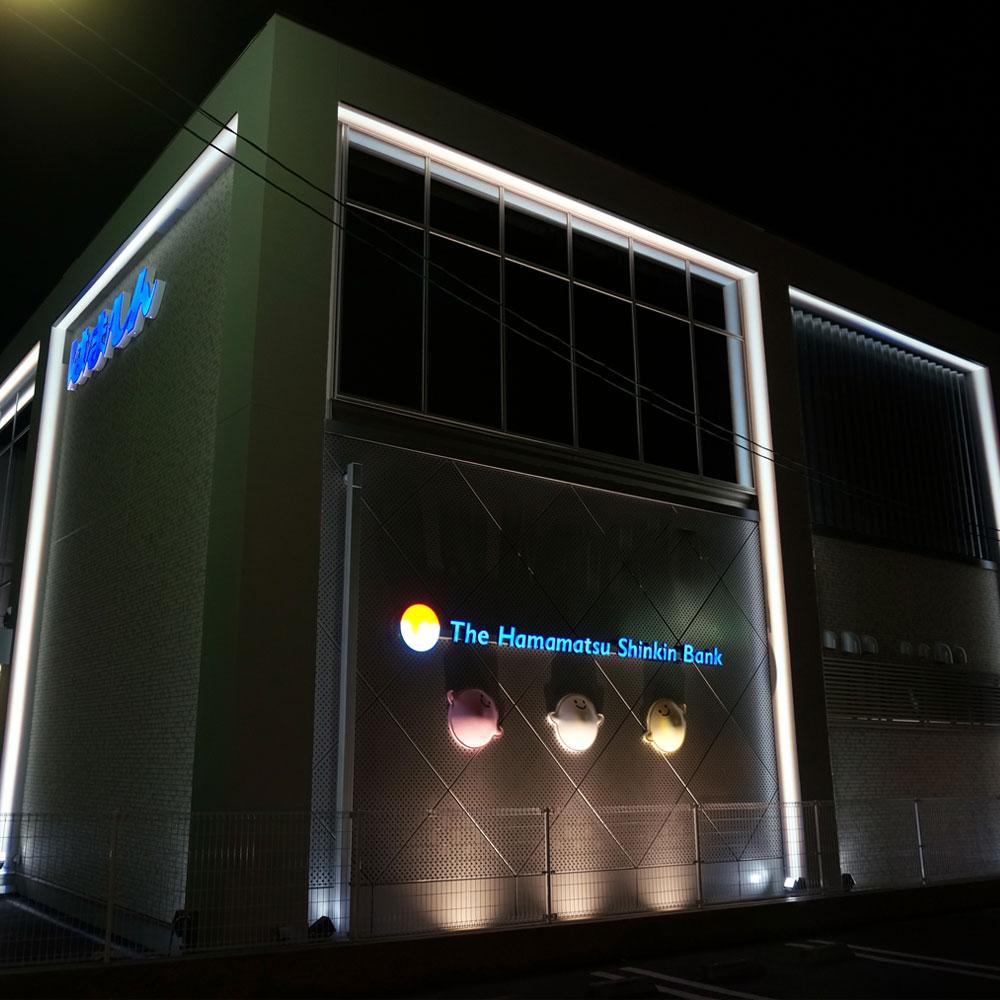 Impressive frame lighting for architecture