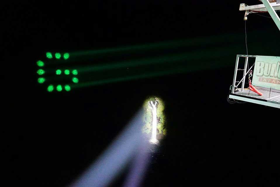 観光イベント照明
