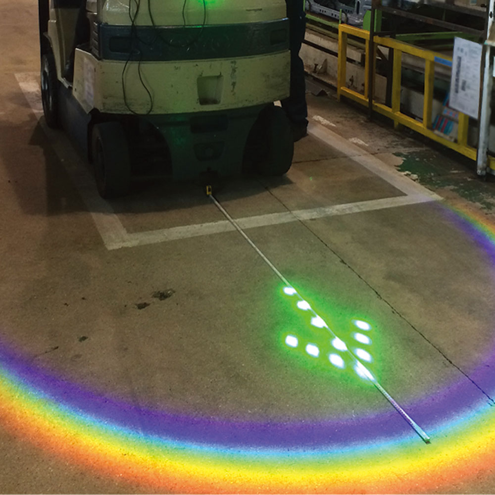 円弧型 光パターン形成LED照明「ホロライト・アーチ」シリーズ