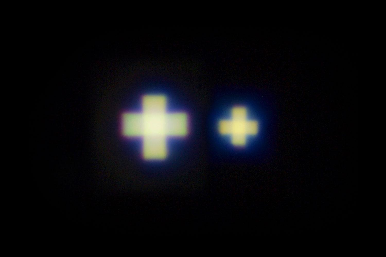 十字型 光パターン形成LED照明「ホロライト・クロス」シリーズ