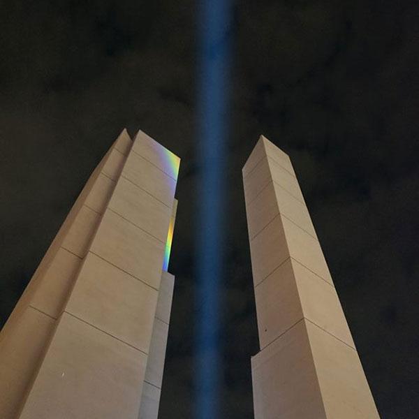 点型 光パターン形成LED照明「ホロライト・ドット」