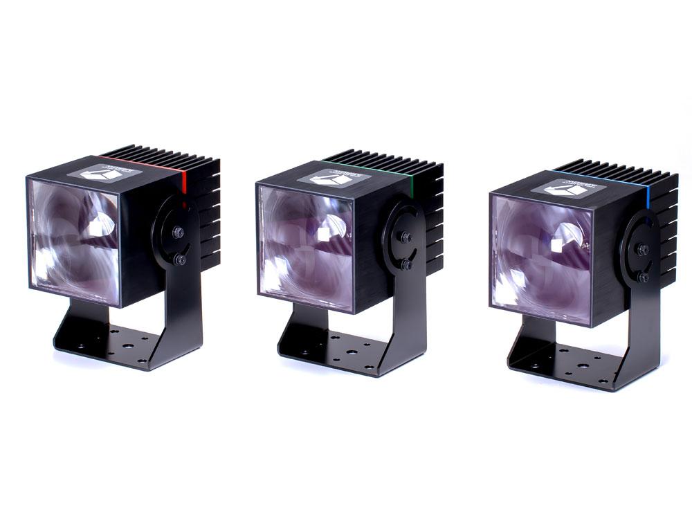 矢印型 光パターン形成LED照明「ホロライト・アロー」シリーズ