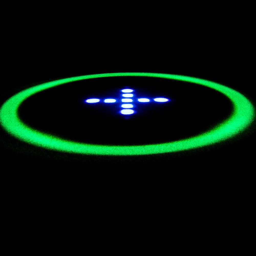 円環型 光パターン形成LED照明「ホロライトリング」シリーズ